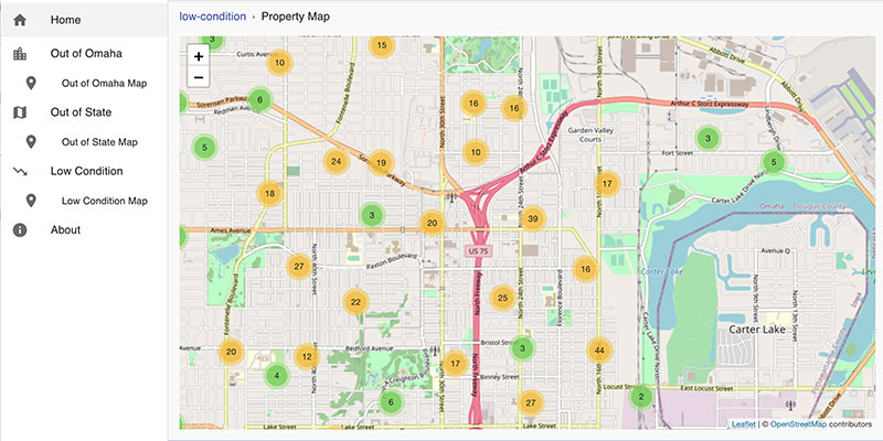 landlords of omaha app property map