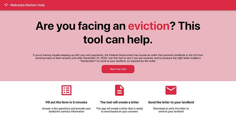 nebraska renters help app